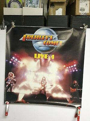 """Ace Frehley """"Frehley's comet""""  1988 original Promo poster"""