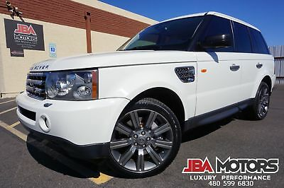 2008 Land Rover Range Rover Sport 2008 Land Rover Range Rover Sport SC Supercharged 08 White Range Rover Sport Supercharged like 2006 2007 2009 2010 2011 2012 HSE