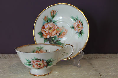 Paragon England Tea Cup And Saucer Signed Dany Robin