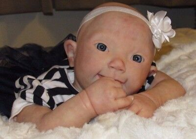 Reborn Baby Girl/with Downsyndrome-By Tori's Stories Reborn Nursery