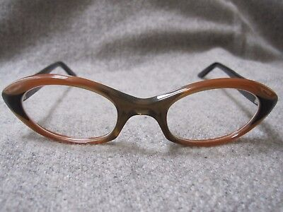 Vintage Michael Birch Eye Glasses Retro 1960's Cat Eye Made In England EUC