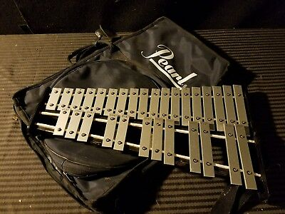 Pearl 32 Key Xylophone With Original Pearl Case Percussion  Instrument
