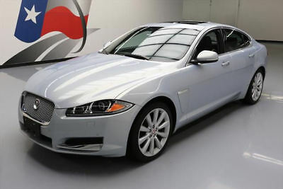 2014 Jaguar XF 3.0L AWD Sedan 4-Door 2014 JAGUAR XF 3.0 S/C AWD SUNROOF NAV REAR CAM 42K MI #U13743 Texas Direct Auto