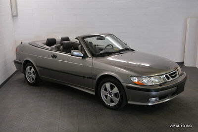 2003 Saab 9-3 2dr Convertible SE aab 9-3 Convertible 5 Speed Heated Seats Leather