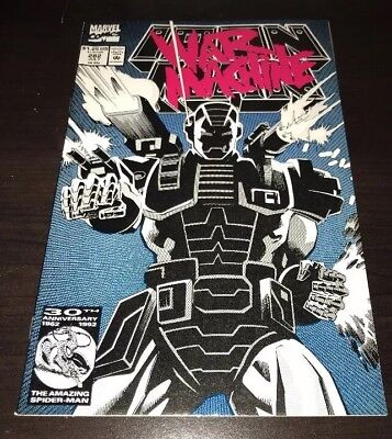 Iron Man #282 WHITE PAGES 1st War Machine Marvel KEY Comic