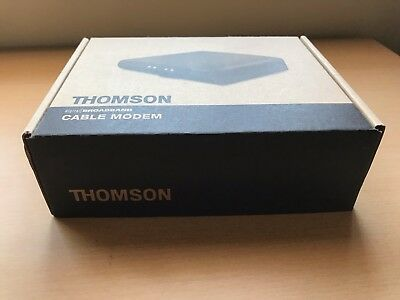 Thomson Broadband Cable Modem bought from Teksavvy