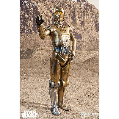 SIDESHOW Star Wars C-3PO Sixth Scale 1:6 Figure Droid NEW SEALED