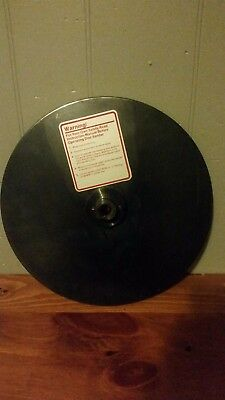 "Shopsmith 12"" Sanding Disk + 7 sheets, gd condition!"