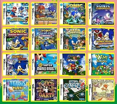 150 games in 1 package NINTENDO DS/DSi/3DS great titles