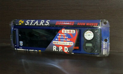 BIOHAZARD Japan Promo RPD STARS Room Car Mirror Clock Resident Evil Chris Jill