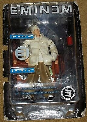 Eminem Sealed Action Figure marshall mathers slim shady lp ep in package mmlp