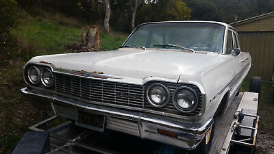 1964 Chevrolet Belair Factory 283 V8/Auto Fresh USA Import Nice driver one owner