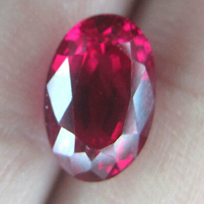 4.18 Cts World's Largest Eye Clean Unheat M0G0K Intense Red Natural Ruby