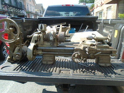 "MACHINIST TOOL LATHE Machinist South Bend 9"" Lathe ,"