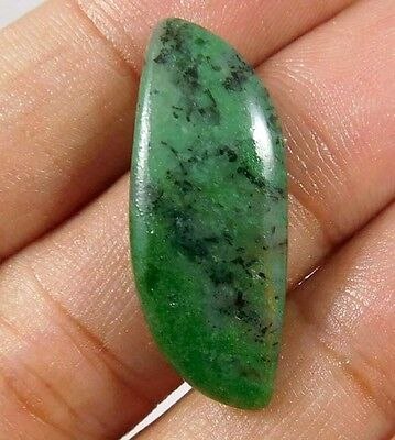 15 Cts. NATURAL STUNNING RUBY ZOISITE LOOSE CAB GEMSTONE (AQ228)