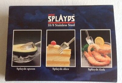 Mini Splayds- Distributed By Stokes - Set Of 6 X 4 Pronged Splayds- Boxed