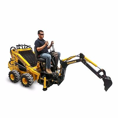 Hydraulic Backhoe Attachment for Mini Loaders