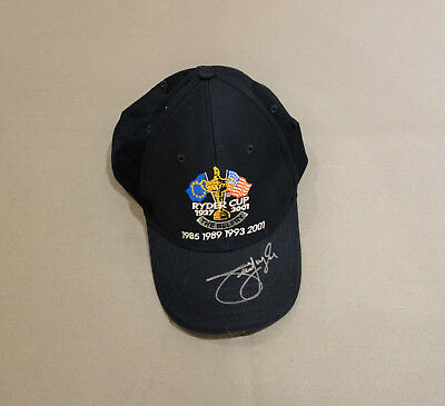 Jim Furyk Signed Ryder Cup Golf Cap with COA