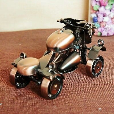 Home decoration handmade four wheel motorcycle model alloy statue XY07