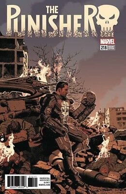 Punisher 218 Greg Smallwood 1:25 Variant Marvel Legacy Tie In Nm
