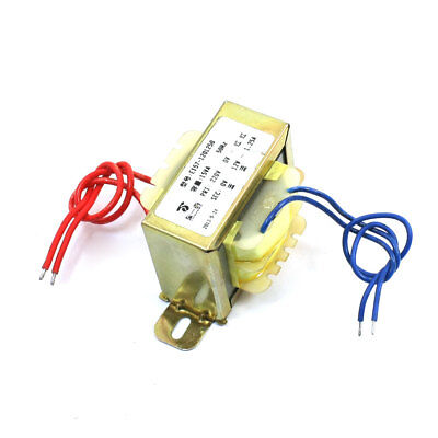 AC 220V 15VA to DC 12V 1.25A Vertical Mount Power Voltage Transformer