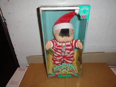 """CABBAGE PATCH KIDS HOLIDAY BABY SPECIAL EDITION 12"""" DEC 30 elena willa brand new"""