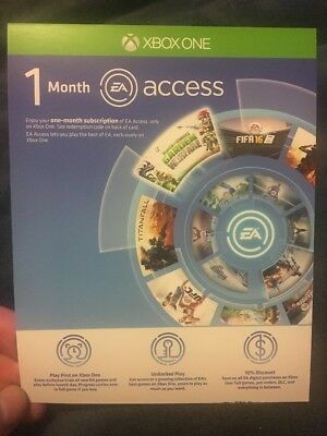 Ea Access 1 Month Download Code