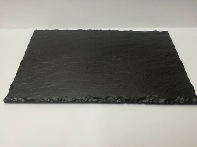 Slate Cheese Tapas Sushi Board Plate Dining Table Set Serving Platter