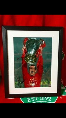 jamie carragher Hand Signed Print