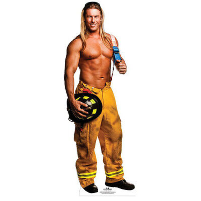 KEVIN CORNELL Chippendales CARDBOARD CUTOUT Standee Standup Male Dancer Fireman