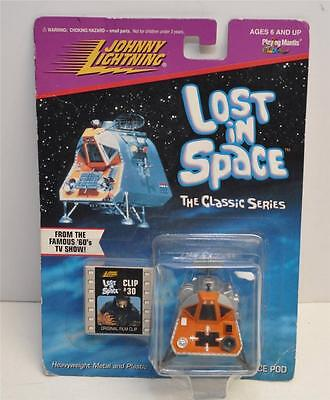 Johnny Lightning Lost in Space THE CLASSIC SERIES Space Pod with Clip #30