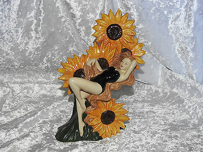 Carltonware - 'the Carlton Girl Sunflower' - Limited Edition - Perfect Condition