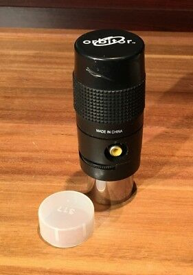 "Orbitor telescope reflector refractor 1.25"" electronic video eyepiece w battery"