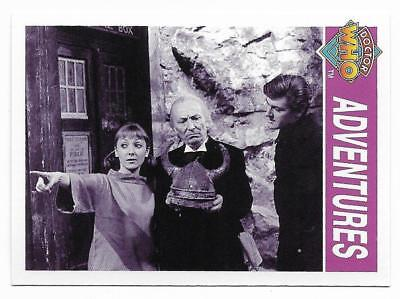 1995 Cornerstone DR WHO Base Card (122) Adventures