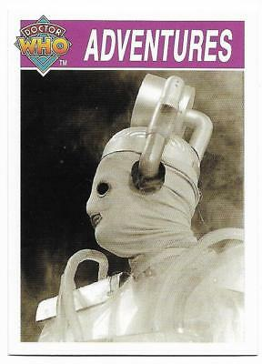 1995 Cornerstone DR WHO Base Card (126) Adventures