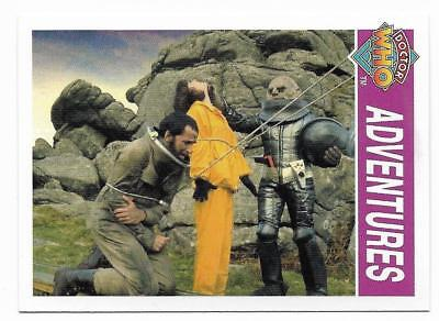 1995 Cornerstone DR WHO Base Card (143) Adventures