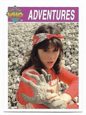 1995 Cornerstone DR WHO Base Card (146) Adventures
