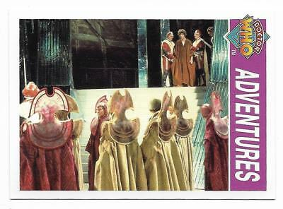 1995 Cornerstone DR WHO Base Card (147) Adventures