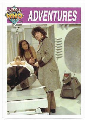1995 Cornerstone DR WHO Base Card (149) Adventures