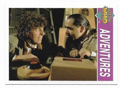 1995 Cornerstone DR WHO Base Card (150) Adventures