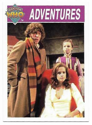 1995 Cornerstone DR WHO Base Card (151) Adventures