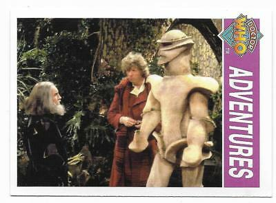 1995 Cornerstone DR WHO Base Card (154) Adventures