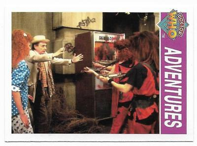 1995 Cornerstone DR WHO Base Card (164) Adventures