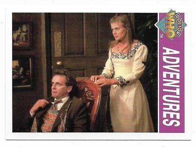 1995 Cornerstone DR WHO Base Card (165) Adventures