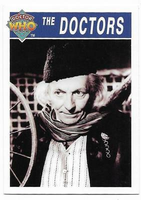 1995 Cornerstone DR WHO Base Card (166) The Doctors