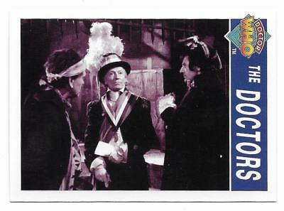 1995 Cornerstone DR WHO Base Card (167) The Doctors