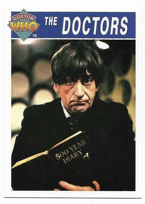1995 Cornerstone DR WHO Base Card (168) The Doctors