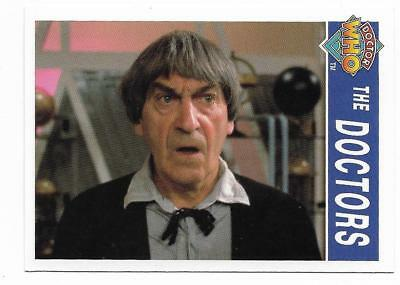 1995 Cornerstone DR WHO Base Card (169) The Doctors