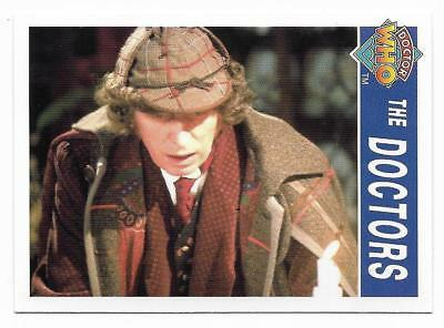 1995 Cornerstone DR WHO Base Card (172) The Doctors