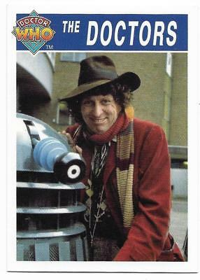 1995 Cornerstone DR WHO Base Card (173) The Doctors